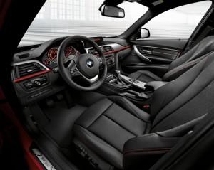 BMW e seu interior com couro Sensatec