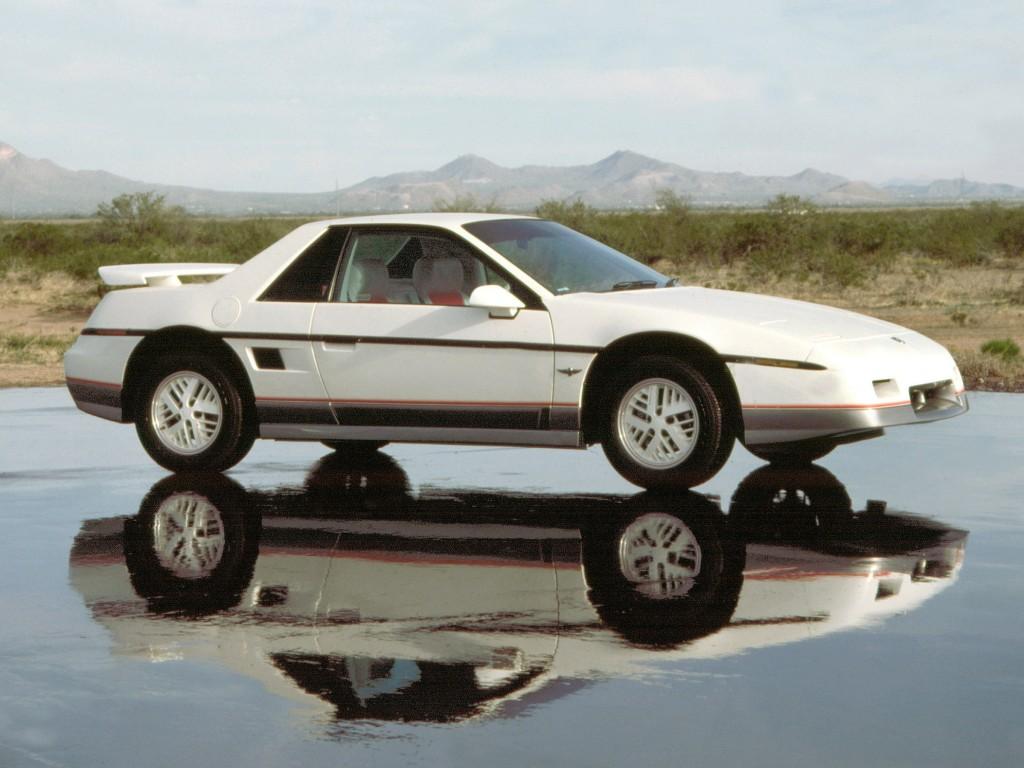 1984 Pontiac Fiero. W84HV_PN001
